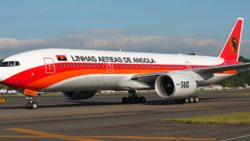 Angola com permissão para voar à Europa